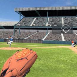 VRトレーニング野球守備